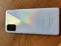 Samsung GALAXY A51 white! plus free CASE