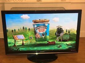 50 inch Panasonic digital free-view TV