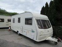 Avondale Dart 6 Berth Fixed Bunks Family Touring Caravan 2003
