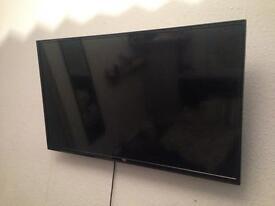 "Bush 40"" HD ready smart TV HDMI"