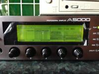 YAMAHA A5000 PROFESSIONAL SAMPLER BUNDLE WITH INTERNAL HARD DISK, 128MB RAM & EXTERNAL CD-R/RW DRIVE