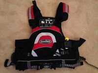 Nookie Buoyancy Aid - Rivermonster - Hardly used, S/M, Chest Rescue Belt included, Pocket
