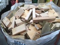1 ton bags of firewood £40.00 each
