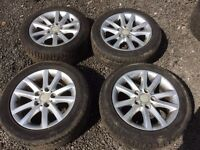 "BMW Alloys 16"" with tyres"