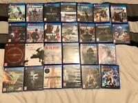 PS4 and Xbox Games Clearout Including Collectors editions and steel books (PRICES IN DESCRIPTION)