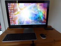 HP All In One Touch Screen Desktop Computer