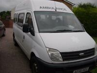 LDV Maxus minibus,12 months mot one previous owner,2006,ready to convert to camper,