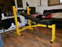 Bodymax performance fitness heavy duty weight bench