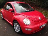 Xmas cracker red 4 new tyres,long mot,excellent con,vw beetle,not vauxall,Honda,Audi,Bmw,ford,