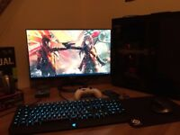 Asus VX24AH 24 inch Frameless IPS 5 ms Console Gaming Monitor with Dual HDMI ports, 2560 x 1440