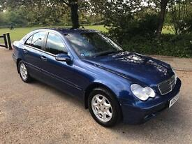 MERCEDES C180 AUTOMATIC ONLY DONE 30K FROM NEW FULL HISTORY DRIVES SUPERB