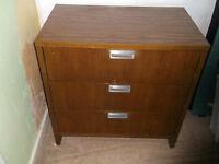 3 draw bedroom dresser