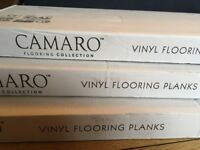 Polyflor Vinyl Flooring planks. Camaro Quayside Oak 2246. Brand new. Unopened. 3 boxes available.