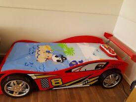 Night Racer Kids Car Bed