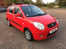2011 KIA PICANTO 2 1.1 £30 A YEAR TAX