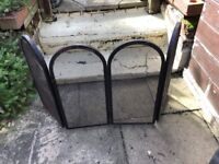 Fire guard for in or outdoors