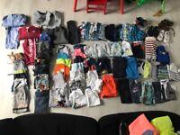 Boys clothes & shoes bundle 18-24 months over 70 items