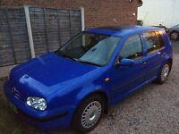 Volkwagen Golf SE TDI 1.9 Blue 5 Door Hatchback Diesel 1998