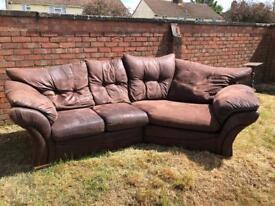 Big corner sofa