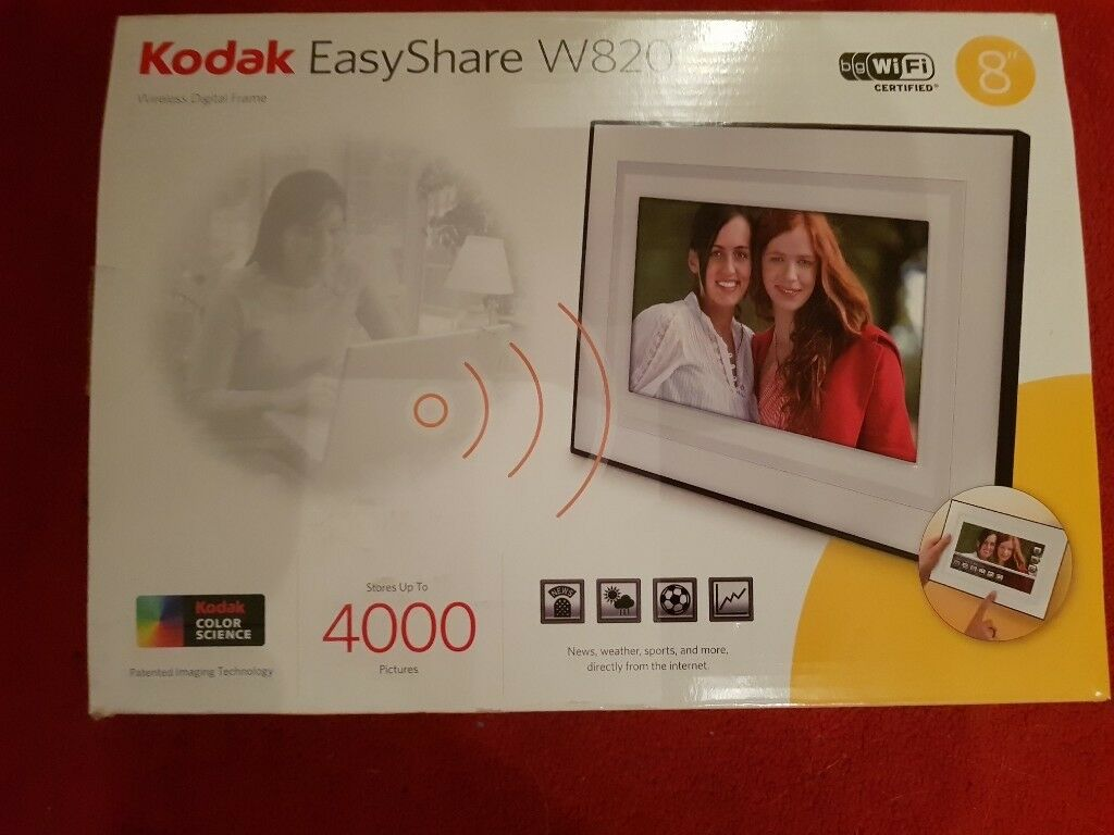 Kodak 8 Inch Wifi Easyshare Photo Frame In Perth Perth And