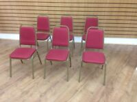 20 BANQUET CHAIRS IN EXCELLENT CONDITION £285