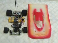 Schumacher C Car with lots of accessories
