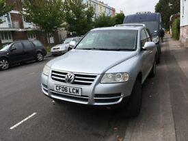 low mileage 4X4 VW Toureg automatic for sale