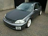 HONDA CIVIC TRACK CAR MODIFIED UNFINISHED PROJECT MAY SWAP P/X VW GOLF GTI TURBO WHY