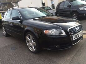 AUDI A4 2.0 TDI DIESEL S LINE 2006 ESTATE AUTOMATIC VERY CLEAN FULL HISTORY PART EX TO CLEAR