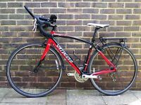 Specalized Secteur Sport 2011, 52cm, triple chain ring, road racing/touring bicycle.