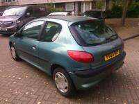 2003 Peugeot 206 1.4 Hdi Diesel Long Mot Drives well
