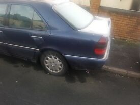 1999 T Mercedes Benz C180 auto elegance 87k 12 month MOT low mileage 87k loads of paper work