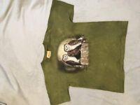 """The Mountain"" Kids Large Barn Owl Tee Shirt"
