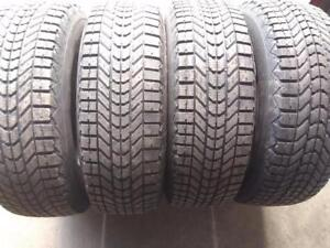 P225/70R16X4 FIRESTONE WINTER FORCE USED FOR SALE