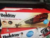 Brand new beldray cordless handheld