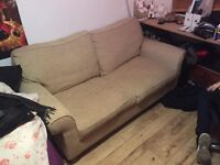 Very nice sofa bed. Needs to go today