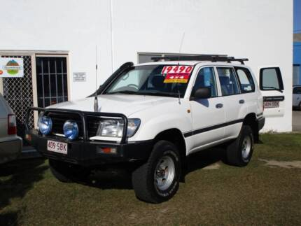 1999 ***TURBO DIESEL*** TOYOTA LANDCRUISER 105 SERIES Clontarf Redcliffe Area Preview