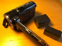 SONY HD VIDEO CAMERA with BATTERIES