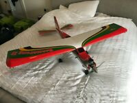 AVAILABLE Seagull Boomerang V2 RC plane (with engine, servos, props, lighting)
