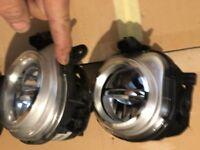 BMW X4 X5 X3 X6 F25 F26 F15 F16 GINUINE LH RH LED FOGLAMPS
