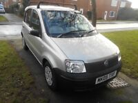fiat panda 1.1 active 5dr 2005 model new shape 63.000 miles,mot,low insurance,tax,mpg