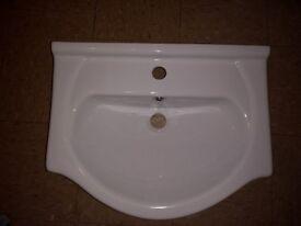semi recessed basin, vanity bowl