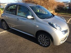 NISSAN MICRA 2008 IN SILVER FULL SERVICE HISTORY