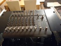 Mackie 1202 pro mixer, in case plus Alesis Midiverb 4 good condition & mains leads