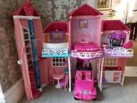 Barbie Malibu Mansion Dream House