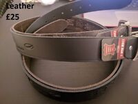 Diesel Men's Leather Belt Brand New