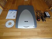 Epson Perfection 2480 Photo Scanner For Sale