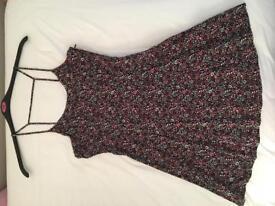 H&M floral dress size 8