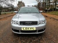 2004.AUDI A4 1.8T [190 EDITION]S-LINE QUATTRO..NEW FULL MOT..FULL SERVICR..ONE OWNER FROM NEW..VGC.