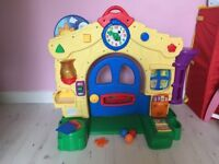 Toy learning house